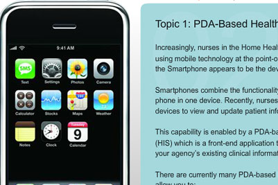 Course Image Nursing and Mobile Technology