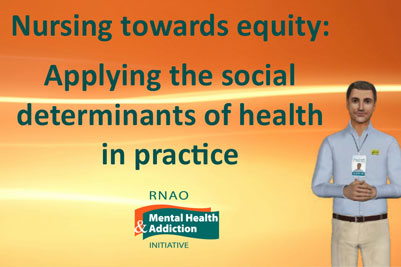 Course Image Nursing towards equity: Applying the social determinants of health in practice