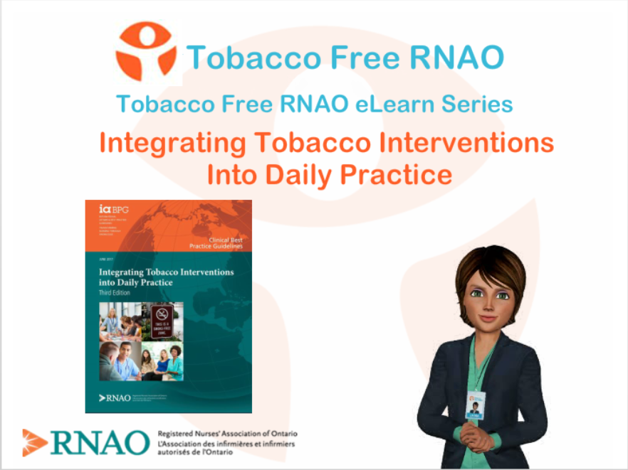 Course Image Integrating Tobacco Interventions into Daily Practice